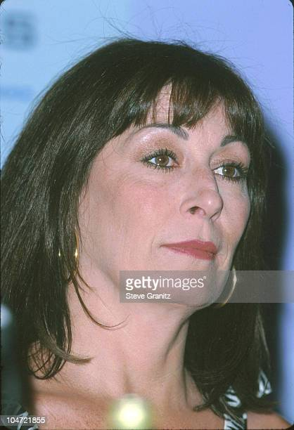 Anjelica Huston during The 23rd Annual Crystal Awards Women in Film at Beverly Hilton Hotel in Beverly Hills California United States