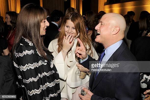 Anjelica Huston Samantha Perelman and Ron Perelman attend VANITY FAIR Tribeca Film Festival Party hosted by GRAYDON CARTER ROBERT DE NIRO and RONALD...