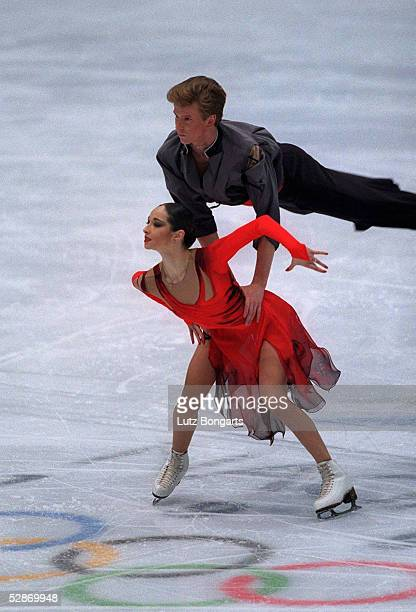 NAGANO 1998 Anjelika KRYLOVA Oleg OVSYANNIKOV SILBER