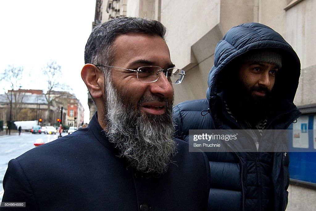 Radical Preacher Anjem Choudry Accused Of Inviting Support Of Terror Group ISIS : News Photo