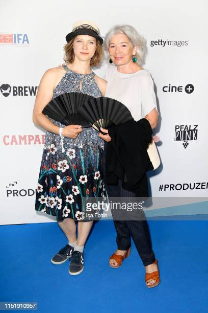 Anjorka Strechel and Ilona Schulz attend the summer party of the German Producers Alliance on June 25 2019 in Berlin Germany