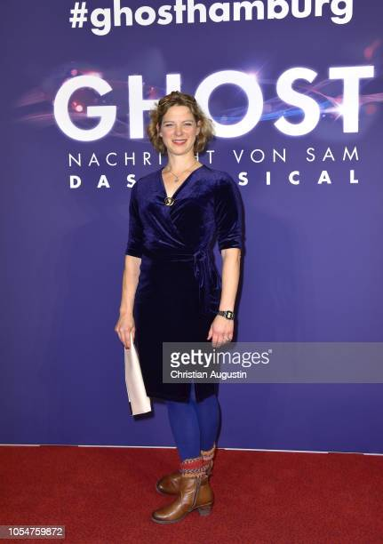 Anjorka Strechel attends the premiere of the musical 'Ghost The Musical' at Stage Operettenhaus on October 28 2018 in Hamburg Germany