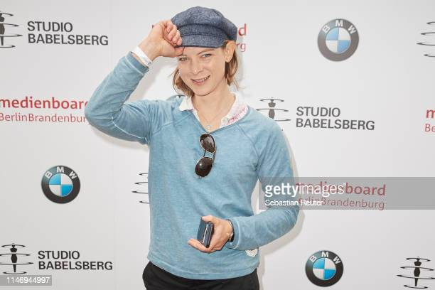 Anjorka Strechel attends the Studio Babelsberg Brunch on the occasion of the German Film Award at Zollpackhof Biergarten on May 04 2019 in Berlin...