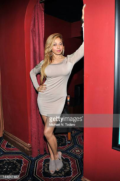 Anju McIntyre attends Alexis Ford's birthday celebration at Rick's Cabaret on May 8, 2012 in New York City.