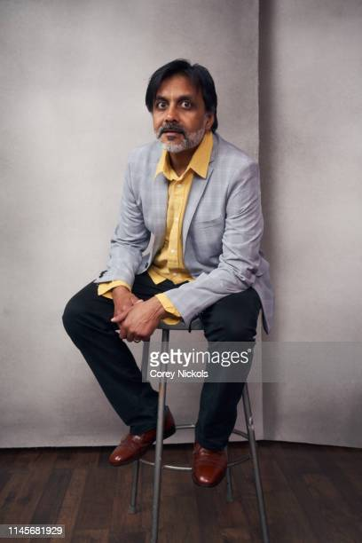Anjul Nigam of the film 'Crown Vic' poses for a portrait during the 2019 Tribeca Film Festival at Spring Studio on April 27 2019 in New York City