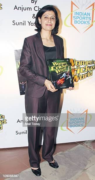Anjum Chopra at the launch of book Women`s Cricket World coauthored by her at JW Marriott Hotel in Juhu