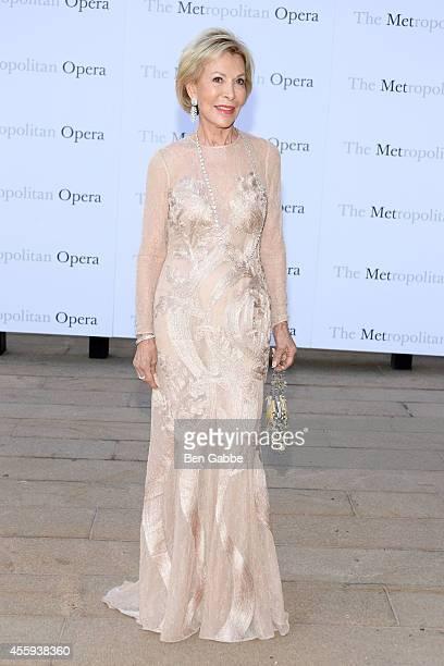 Anka Palitz attends the Metropolitan Opera Season Opening at The Metropolitan Opera House on September 22 2014 in New York City