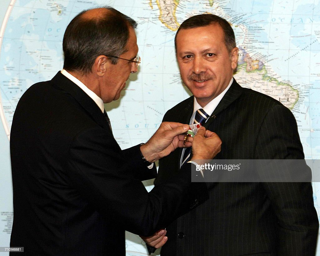 Russian Foreign Minister Sergei Lavrov ( : News Photo