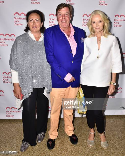 Anke BeckFriedrich Franz Burda and Bettina Burda attend the Annual SummerFest Culinary Arts Festival Honoring Simone Levinson with the Champion of...