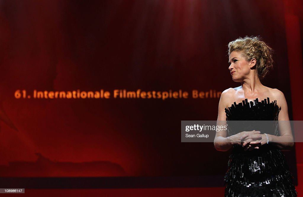 Anke Engelke attends the grand opening ceremony during the opening day of the 61st Berlin International Film Festival at Berlinale Palace on February 10, 2011 in Berlin, Germany.