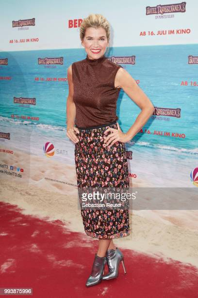 Anke Engelke attends the 'Hotel Transsilvanien 3' premiere at CineStar on July 8 2018 in Berlin Germany