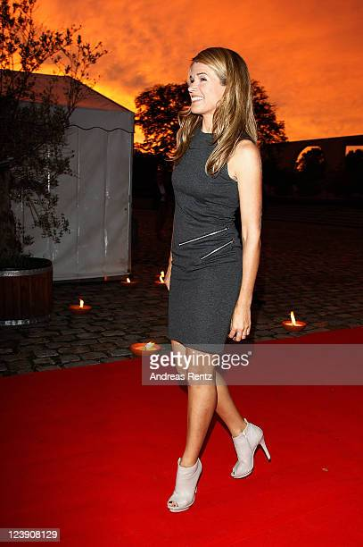 Anke Engelke attends the Medianight 11 reception at the Tipi tent on September 5 2011 in Berlin Germany