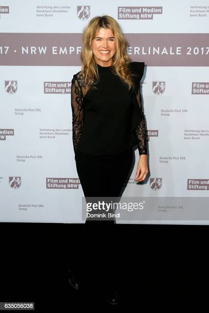Anke Engelke attends the NRW Reception at the Landesvertretung during the 67th Berlinale International Film Festival on February 12 2017 in Berlin...