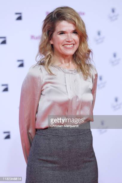 Anke Engelke attends the 'Rate Your Date' premiere at CineStar on February 26 2019 in Berlin Germany