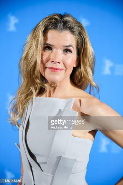 Anke Engelke pose at the closing ceremony of the 69th Berlinale International Film Festival Berlin at Berlinale Palace on February 16 2019 in Berlin...