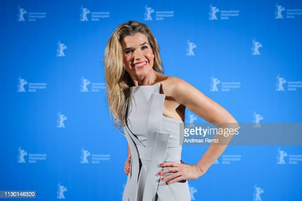 Anke Engelke poses at the closing ceremony of the 69th Berlinale International Film Festival Berlin at Berlinale Palace on February 16 2019 in Berlin...