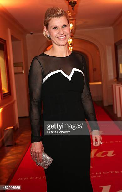 Anke Huber during the Gala Spa Awards 2015 at Brenners ParkHotel Spa on March 21 2015 in BadenBaden Germany