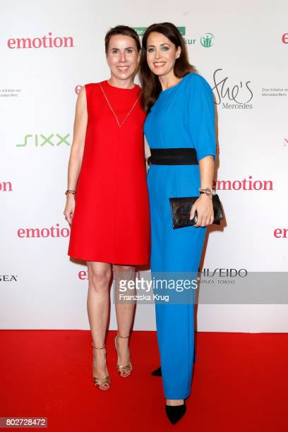 Anke Rippert and Annika de Buhr attend the Emotion Award at Laeiszhalle on June 28 2017 in Hamburg Germany