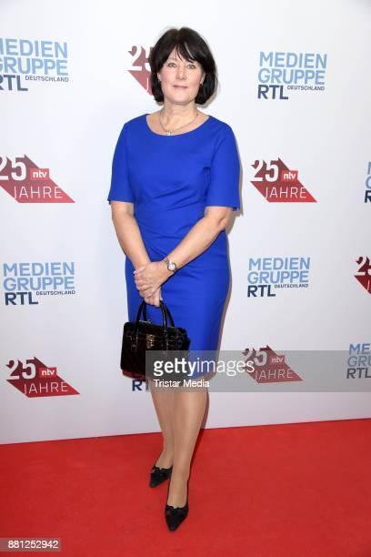 Anke Schaeferkordt attends the 25 years anniversary ntv event at Bertelsmann Repraesentanz on November 28 2017 in Berlin Germany