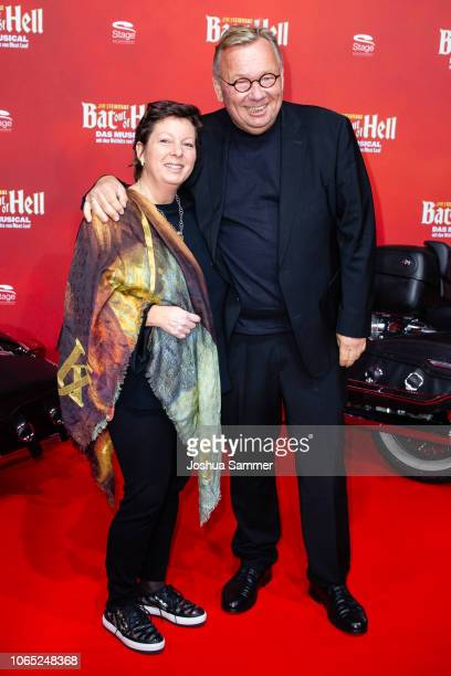 Anke Stelter and Bernd Stelter attend the premiere of the musical 'Bat out of Hell' at Stage Metronom Theater on November 8 2018 in Oberhausen Germany