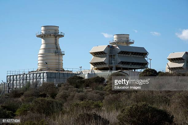 Ankerlig Power Station at Atlantis North of Cape Town South Africa One of Five Gas Turbine Plants In Southern Africa Powered by Natural Gas