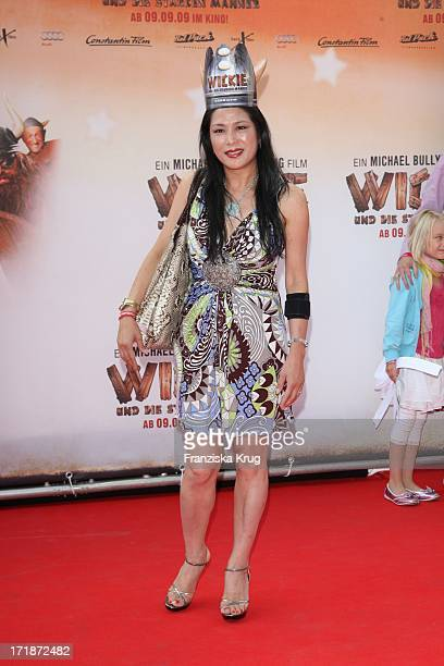 Ankie Lau at the Premiere Of Vicky the Viking In Mathäuser cinema in Munich