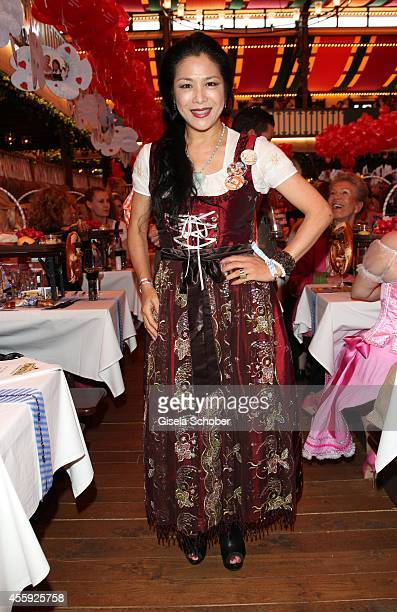 Ankie Lau attend the 'Sixt Damen Wiesn' at Marstall tent during Oktoberfest at Theresienwiese on September 22 2014 in Munich Germany