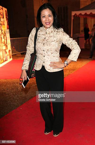 Ankie Lau during the German Films Reception at the annual 69th Cannes Film Festival at Villa Rothschild on May 14 2016 in Cannes France