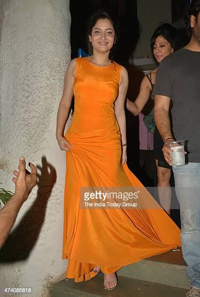Ankita Lokhande at the party hosted by Deepika Padukone in Mumbai