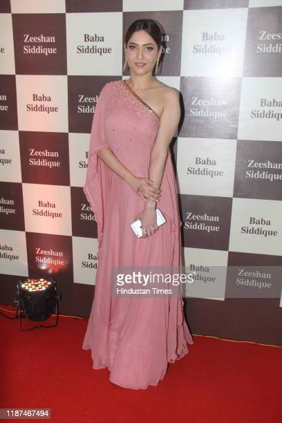 Ankita Lokhande during Baba and Zeeshan Siddique's annual Iftar party at the Taj Lands End hotel in Bandra on June 24 2017 in Mumbai India