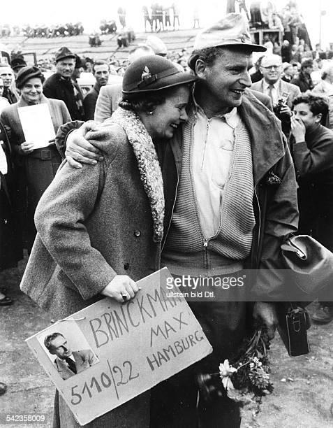 Ankunft in Friedland 1955