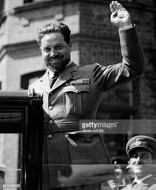 Balbo Italo *05061896Offizier und Politiker I veroeffentlicht anlaesslich seiner Ankunft zu einem Besuch in Deutschland