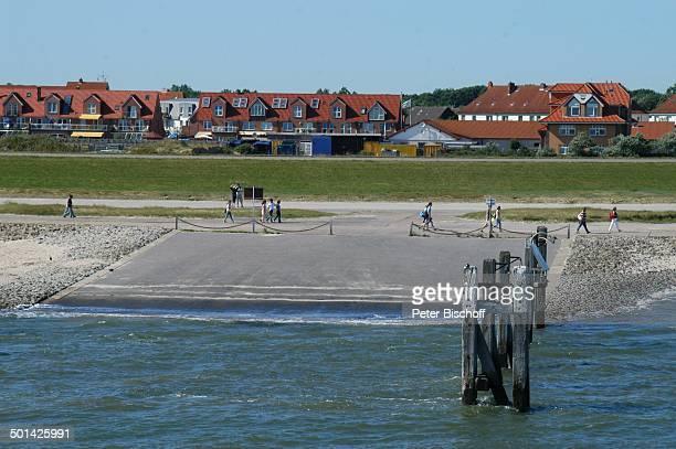 Anleger Hafen Ostfriesische NordseeInsel Norderney Niedersachsen Deutschland Europa Reise BB DIG PNr 1553/2007