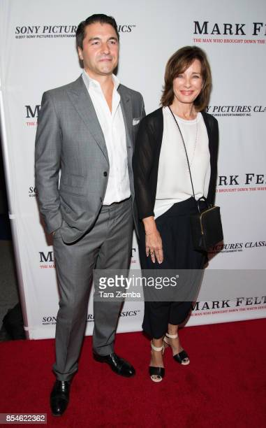 Ann Archer and Tommy Davis attend the premiere of Sony Pictures Classics' 'Mark Felt The Man Who Brought Down The White House' at Writers Guild...