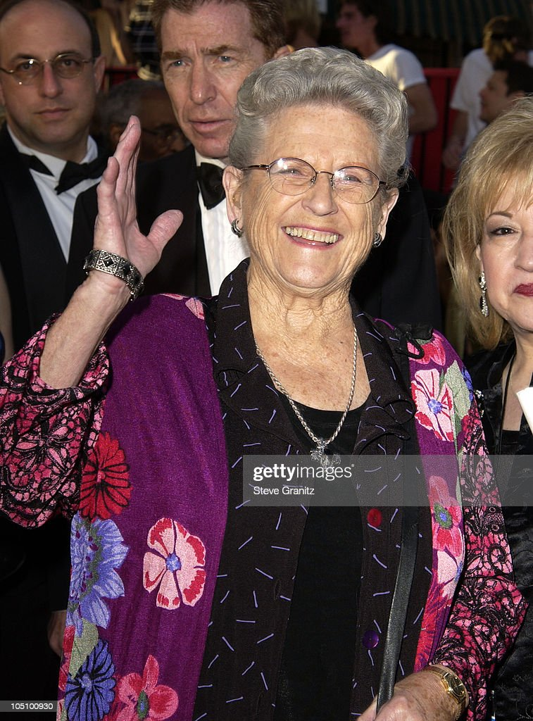 Ann B. Davis during ABC's 50th Anniversary Celebration at The Pantages Theater in Hollywood, California, United States.