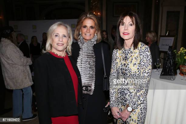 Ann Barish, Grace Meigher and Guest attend Hope for Depression Research Foundation's 11th Annual Luncheon Honoring Ashley Judd at The Plaza Hotel on...