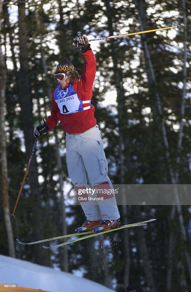 OLY W Moguls Qualifying : News Photo