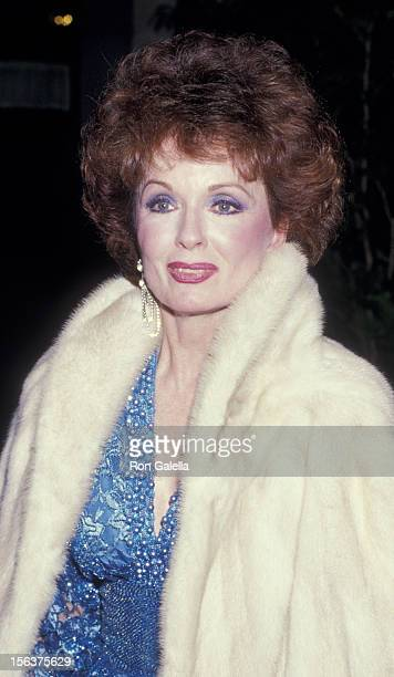 Ann Blyth attends Fifth Annual American Cinema Awards on January 9 1987 at the Beverly Wilshire Hotel in Beverly Hills California
