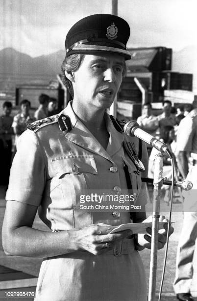 Ann Calderwood the Commandant of the Police Training School 21JUL78