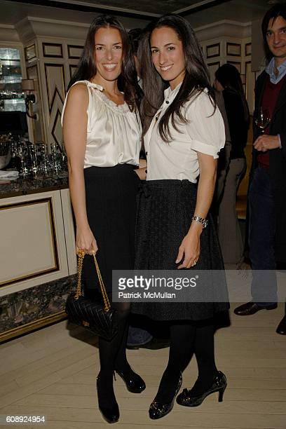 Ann Caruso and Anna Pinheiro attend FARAONE MENNELLA 5th Year Anniversary Party at Bergdorf Goodman on November 28 2007 in New York City