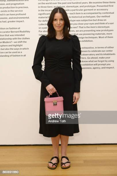 Ann Caruso attends as Harper's BAZAAR and THE OUTNETCOM Celebrate the opening of MoMA's Fashion Exhibit 'Is Fashion Modern' at MOMA on October 12...