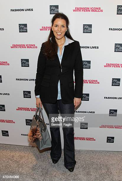 Ann Caruso attends the Fashion Lives Book Launch at Saks Fifth Avenue on April 20 2015 in New York City
