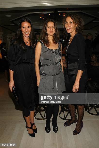 Ann Caruso Karla Otto and Jacqueline Schnabel attend Dinner Hosted by Consuelo Castiglioni of MARNI at Bergdorf Goodman on November 15 2006 in New...