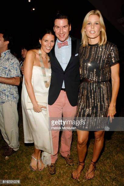 Ann Caruso Peter Davis and Mary Alice Stephenson attend 11th Annual Love Heals at Luna Farm 'A Picture Perfect Summer' Presented by Sony NEX Cameras...