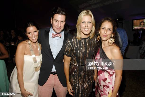Ann Caruso Peter Davis Mary Alice Stephenson and Dini von Mueffling attend 11th Annual Love Heals at Luna Farm 'A Picture Perfect Summer' Presented...