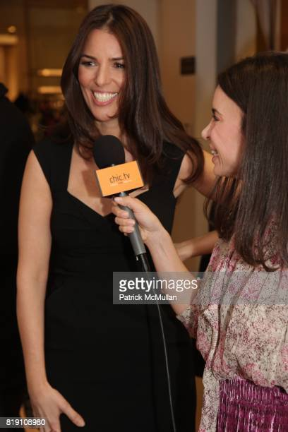 Ann Caruso Ports 1961 Designer Tia Cibani attend BLOOMINGDALE'S and VANITY FAIR Preview the PORTS 1961 Spring Collection at Bloomingdale's on March...