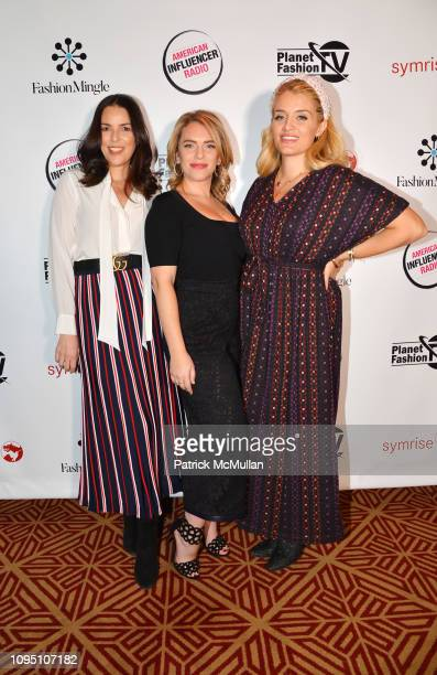 Ann Caruso Renee Willett and Daphne Oz attend American Influencer Association Launch Party Featuring Daphne Oz at The Doubles Club on February 6 2019...