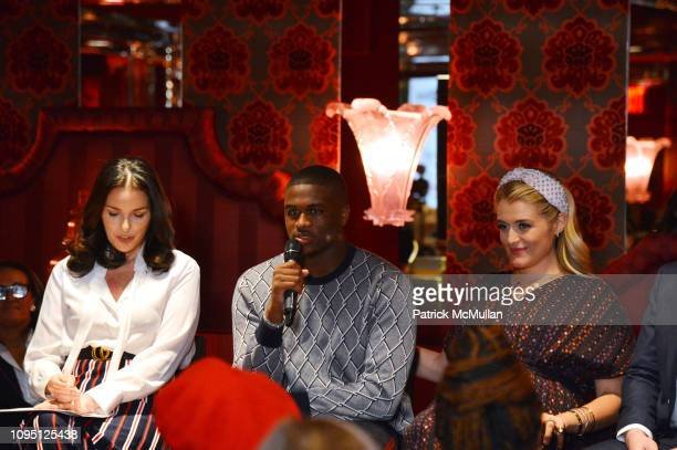 Ann Caruso Walter Harvin and Daphne Oz attend American Influencer Association Launch Party Featuring Daphne Oz at The Doubles Club on February 6 2019...