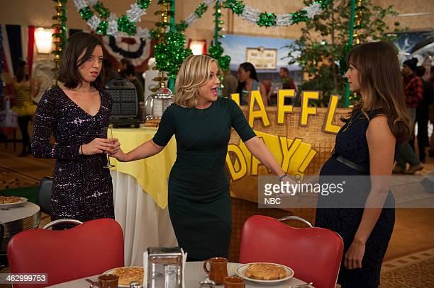 RECREATION Ann Chris Episode 613 Pictured Aubrey Plaza as April Ludgate Amy Poehler as Leslie Knope Rashida Jones as Ann Perkins
