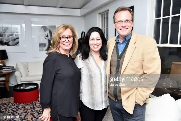 Ann CiardulloKristin Regan and Patrick Mclaughlin attend AVENUE Celebrates the New Year at Pierre's on February 8 2017 in Bridgehampton New York